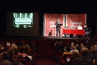 Roma, 1 Dicembre 2012.Testaccio teatro Vittora.Assemblea Cambiare si può, per l'alternativa verso le elezioni 2013.Antonio di Luca