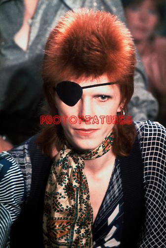 David Bowie 1974<br /> &copy; Chris Walter