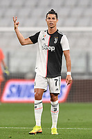 Cristiano Ronaldo of Juventus <br /> during the Serie A football match between Juventus FC and US Lecce at Juventus stadium in Turin  ( Italy ), June 26th, 2020. Play resumes behind closed doors following the outbreak of the coronavirus disease. Photo Andrea Staccioli / Insidefoto