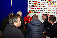 Daniel James of Wales  during the Wales Press Conference at St Fagans National Musuem of History in Cardiff, Wales, UK. Monday 07 October 2019