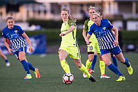 Boston, MA - Saturday April 29, 2017: Kristen McNabb during a regular season National Women's Soccer League (NWSL) match between the Boston Breakers and Seattle Reign FC at Jordan Field.