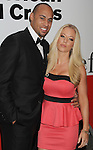 SANTA MONICA, CA - APRIL 21: Hank Baskett and wife Kendra Wilkinson attend American Red Cross Annual Red Tie Affair at Fairmont Miramar Hotel on April 21, 2012 in Santa Monica, California.