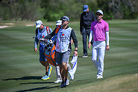 Dylan Frittelli (RSA) approaches the green on 2 during Round 4 of the Valero Texas Open, AT&amp;T Oaks Course, TPC San Antonio, San Antonio, Texas, USA. 4/22/2018.<br /> Picture: Golffile | Ken Murray<br /> <br /> <br /> All photo usage must carry mandatory copyright credit (&copy; Golffile | Ken Murray)