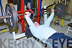 WORLD RECORD HOLDER: Lenny O'Sullivan of the Powerhouse Gym, Tralee who broke the Irish, European & World record at the Irish Drug Free Bench Press Championship benching a weight of 162.5kgs in the 90kg class in Mallow, Cork last Saturday.