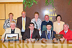 The large crowd attending the civic reception in honour of Fr David Lupton (Manchester) and Georgie O'Callaghan on Monday at the County Buildings in Tralee in recognition of 35 years of exchange visits between Manchester and Castleisland soccer teams.   Copyright Kerry's Eye 2008