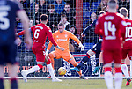 08.03.2020: Ross County v Rangers: Allan McGregor saves from Billy Mckay