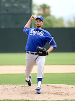 Matt Peterson / AZL Royals rehab appearance..Photo by:  Bill Mitchell/Four Seam Images