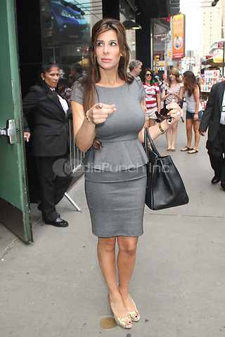 NEW YORK CITY, NY - August 07, 2012: Siggy Flicker at Good Afternoon America in New York City. © RW/MediaPunch Inc.