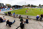 Yorkshire fans watching as Jersey attack. Yorkshire v Parishes of Jersey, CONIFA Heritage Cup, Ingfield Stadium, Ossett. Yorkshire's first competitive game. The Yorkshire International Football Association was formed in 2017 and accepted by CONIFA in 2018. Their first competative fixture saw them host Parishes of Jersey in the Heritage Cup at Ingfield stadium in Ossett. Yorkshire won 1-0 with a 93 minute goal in front of 521 people. Photo by Paul Thompson