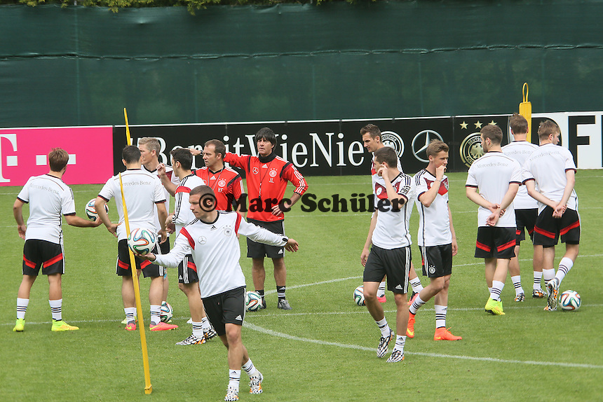 """Ist die Nationalelf """"bereit wie nie""""? - Abschlusstraining der Deutschen Nationalmannschaft im Rahmen der WM-Vorbereitung in St. Martin"""