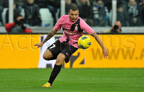 18.12.2011. Turin, Italy.   Simone Pepe Juventus   Series A 2011 2012 Juventus Torino vs Novara