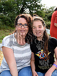 Lynne and Kaitlyn Dunphy at the Seafood Rocks festival in Clogherhead. Photo:Colin Bell/pressphotos.ie