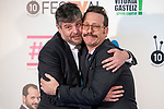 Raul Cimas and Joaquin Reyes attends to presentation of new comedian schedule of #0 during FestVal in Vitoria, Spain. September 06, 2018. (ALTERPHOTOS/Borja B.Hojas)