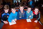 Final round<br /> ---------------<br /> An Gaeltacht quiz team were including sub were L-R Cathal O Beaglaoich,Feral Mac Eoin,Naoise Mac Gearailt,Ciarain Muircheartaigh ages Ben o Briain