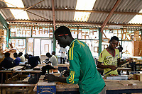KENYA, Turkana, refugee camp Kakuma, Don Bosco vocational training / KENIA, Turkana, Fluechtlingslager Kakuma, Don Bosco Berufsschule