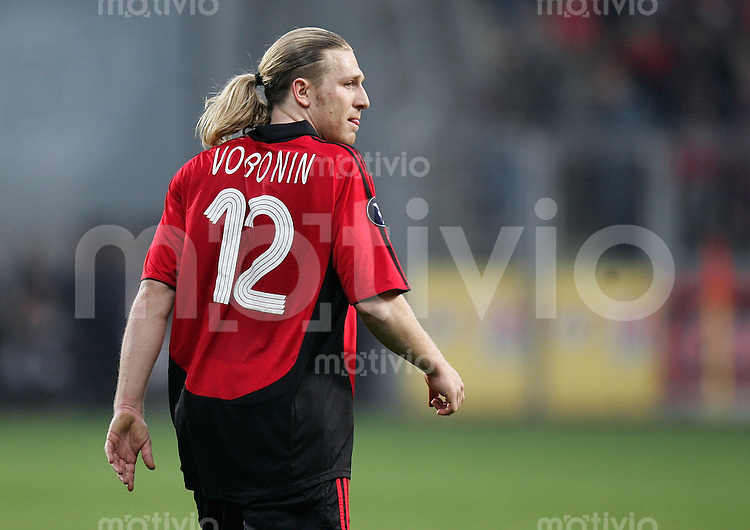 Fussball   International Uefa-Cup   Saison 2006/2007 Andriy VORONIN (Bayer 04 Leverkusen)