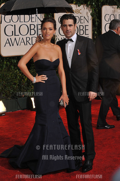 Colin Farrell & date at the 67th Golden Globe Awards at the Beverly Hilton Hotel..January 17, 2010  Beverly Hills, CA.Picture: Paul Smith / Featureflash