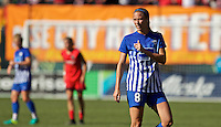 Portland, Oregon - Sunday September 4, 2016: Boston Breakers defender Julie King (8) during a regular season National Women's Soccer League (NWSL) match at Providence Park.