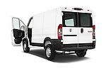 Car images close up view of a 2014 Ram ProMaster 1500 118 WB Low Roof 2 Door Cargo Van doors