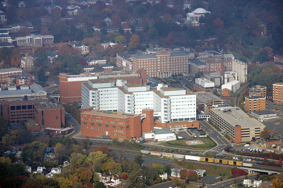 UVa health system hospital aerial