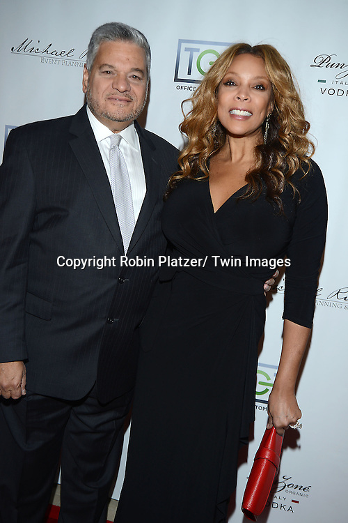 Stephen Freeman and Wendy Williams attend YAI's 56th Anniversary Gala on November 13, 2013 at Guastavino's in New York City.