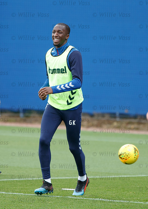 28.08.2019 Rangers training: Glen Kamara