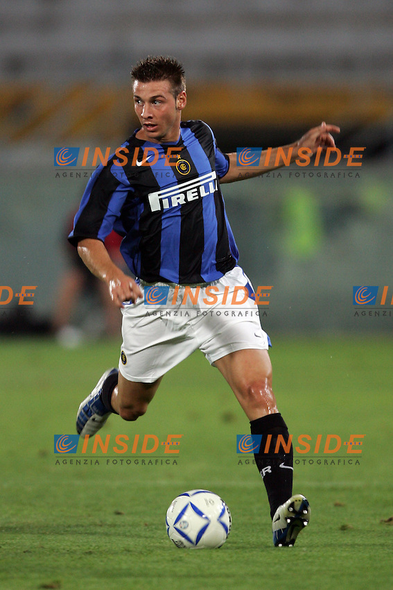 Pisa 14/8/2004 Inter Aek Atene 5-1 Friendly tournament Sky. Giovanni Pasquale Inter<br /> Foto Andrea Staccioli Insidefoto
