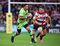 Northampton Saints' Luther Burrell in action <br /> <br /> Photographer Ashley Western/CameraSport<br /> <br /> Aviva Premiership - Gloucester v Northampton Saints - Saturday 7th October 2017 - Kingsholm Stadium - Gloucester<br /> <br /> World Copyright &copy; 2017 CameraSport. All rights reserved. 43 Linden Ave. Countesthorpe. Leicester. England. LE8 5PG - Tel: +44 (0) 116 277 4147 - admin@camerasport.com - www.camerasport.com
