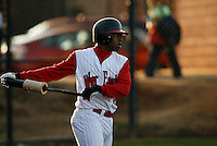 February 28, 2008:  Delino DeShields Jr, of the Woodward Academy War Eagles in action at Woodward Academy High School in Atlanta, GA.  Photo By David Stoner / Four Seam Images