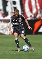 DC United midfielder Brian Carroll (16) traps the ball. DC United defeated Chivas USA 2-1, at RFK Stadium in Washington DC, Sunday May 6, 2007.