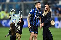 Alejandro Gomez of Atalanta and his family celebrate at the end of the match <br /> Reggio Emilia 26-02-2019 Mapei Stadium <br /> Football Serie A 2018/2019 Atalanta - Sassuolo   <br /> Foto Daniele Buffa/ Image Sport / Insidefoto
