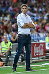 Deportivo Alaves's Mauricio Pelegrino during the match of La Liga Santander between Atletico de Madrid and Deportivo Alaves at Vicente Calderon Stadium. August 21, 2016. (ALTERPHOTOS/Rodrigo Jimenez)