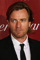 PALM SPRINGS, CA - JANUARY 04: Ewan McGregor arriving at the 25th Annual Palm Springs International Film Festival Awards Gala held at Palm Springs Convention Center on January 4, 2014 in Palm Springs, California. (Photo by Xavier Collin/Celebrity Monitor)