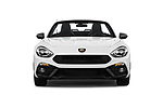 Car photography straight front view of a 2017 Abarth 124 Spider Base 2 Door Convertible