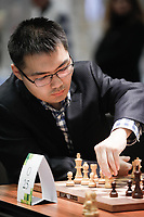 29th December 2019, Moscow, Russia;  Xu Yinglun of China competes with Sargissian Gabriel of Armenia in the final round of the 2019 King Salman World Chess Rapid Open Championship in Moscow, Russia