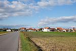 Die Nationalparkgemeinde Apetlon liegt im Seewinkel am Ostufer des Neusiedler Sees, Nationalpark Neusiedlersee, Seewinkel, Bezirk Neusiedl am See, Burgenland, Austria, Österreich.