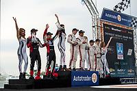 DPi Podium: #31 Whelen Engineering Racing Cadillac DPi, DPi: Felipe Nasr, Pipo Derani, 1st Place - #6 Acura Team Penske Acura DPi, DPi: Juan Pablo Montoya, Dane Cameron, 2nd Place - #7 Acura Team Penske Acura DPi, DPi: Helio Castroneves, Ricky Taylor