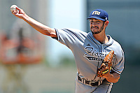 5 June 2010:  FIU's Aaron Arboleya (29) pitches in the third inning as the Dartmouth Green Wave defeated the FIU Golden Panthers, 15-9, in Game 3 of the 2010 NCAA Coral Gables Regional at Alex Rodriguez Park in Coral Gables, Florida.