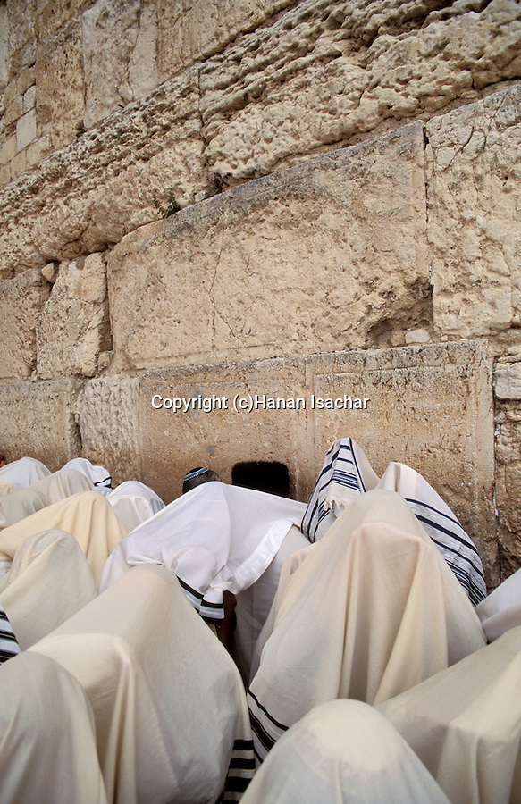 Jerusalem, the Priestly Blessing ceremony at the Western