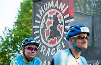 Picture by Allan McKenzie/SWpix.com - 06/05/2018 - Cycling - Maserati Human Race Sportive, Leeds, England - human Race, branding.