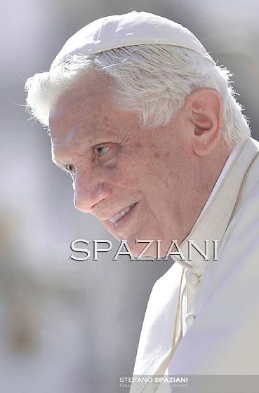 Pope Benedict XVI during his weekly general audience in St. Peter square at the Vatican, Wednesday. 5 october, 2011