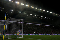 Stoke City's Oghenekaro Etebo slots a penalty<br /> <br /> Photographer Alex Dodd/CameraSport<br /> <br /> The Carabao Cup Second Round- Leeds United v Stoke City - Tuesday 27th August 2019  - Elland Road - Leeds<br />  <br /> World Copyright © 2019 CameraSport. All rights reserved. 43 Linden Ave. Countesthorpe. Leicester. England. LE8 5PG - Tel: +44 (0) 116 277 4147 - admin@camerasport.com - www.camerasport.com