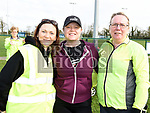 Nicole Ludden, Linda Burke and Janet Long who took part in the St. Colmcilles 10K run. Photo:Colin Bell/pressphotos.ie