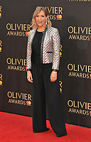 Mel Giedroyc at the Olivier Awards 2018, Royal Albert Hall, Kensington Gore, London, England, UK, on Sunday 08 April 2018.<br /> CAP/CAN<br /> &copy;CAN/Capital Pictures<br /> CAP/CAN<br /> &copy;CAN/Capital Pictures