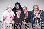 Zombies l-r: John Joe O'Connor, Herbie Killington, Finta Whittaker, Steve Whittaker, Alan Heaslip Knocknagoshel at the Knocknagoshel Halloween festival on Sunday night