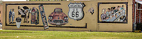 Mural on Route 66 in Edmond Oklahoma.