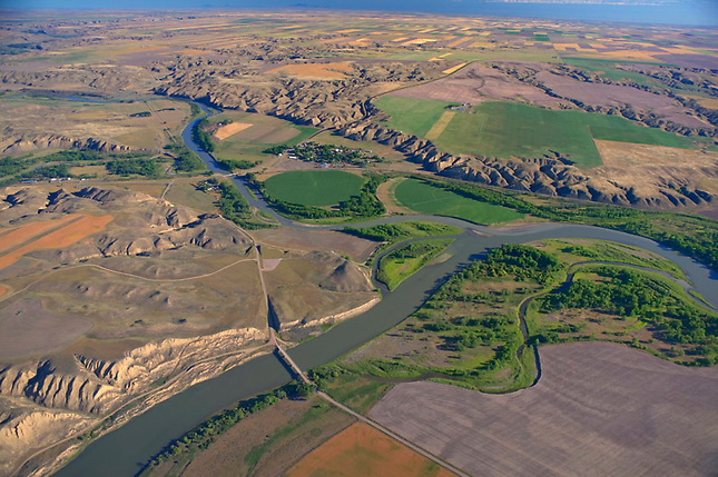 Confluence of Missouri and Marias Rivers