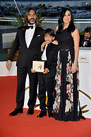Nadine Labaki, Zain Alrafeea &amp; Khaled Mouzanar at the photocall for &quot;Award Winners&quot; at the 71st Festival de Cannes, Cannes, France 19 May 2018<br /> Picture: Paul Smith/Featureflash/SilverHub 0208 004 5359 sales@silverhubmedia.com