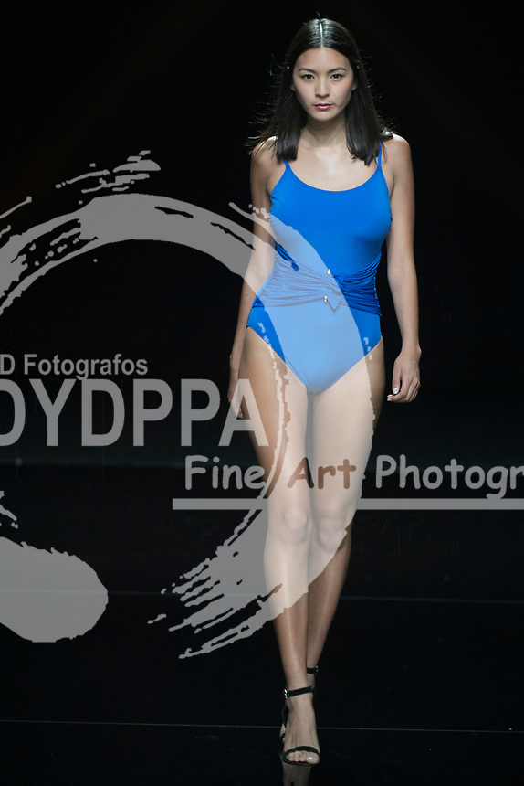 Model Dasury Jeong poses
