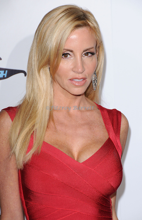 "Camille Grammer arriving at ""The Real Housewives of Beverly Hills"" Season Three Premiere Party held at the Roosevelt Hotel Los Angeles CA. October 21, 2012."